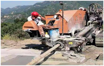 尾矿库排水管施工